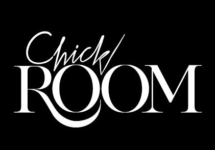 Chickroom Logo - black background large